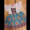 Teal & Orange Nomad Dress